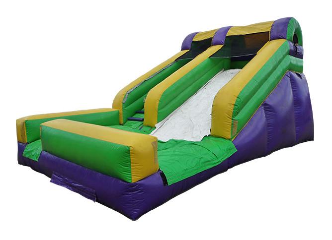 Wet and Dry Single Lane Slide